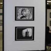 """Exposição de desenhos """"Traços do Sertão"""""""