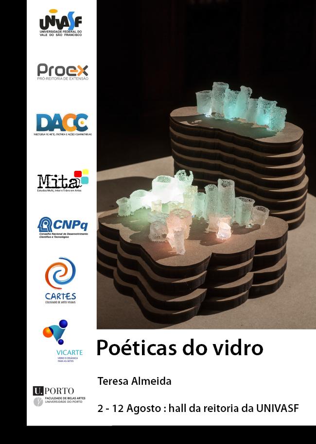 cartaz poéticas do vidro